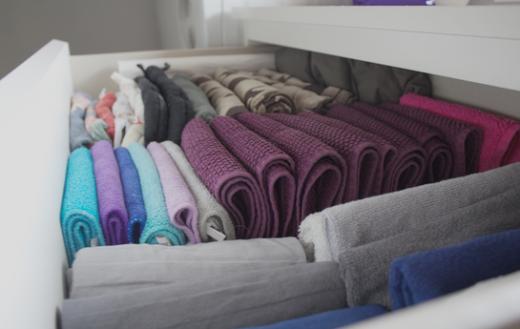 Handdoekenlade